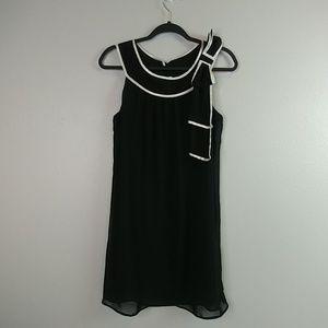 Studio Y Size 7 Black sheath dress.